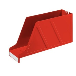 Leitz 24270025 Stehsammler Standard, A4, Polystyrol, rot_large_image_attachment