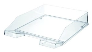 HAN 1026-X-23 Briefablage KLASSIK, DIN A4/C4, stapelbar, stabil, 6er Packung, transparent-glasklar_large_image_attachment